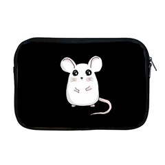 Cute Mouse Apple Macbook Pro 17  Zipper Case by Valentinaart