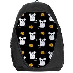 Cute Mouse Pattern Backpack Bag by Valentinaart