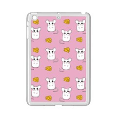 Cute Mouse Pattern Ipad Mini 2 Enamel Coated Cases by Valentinaart