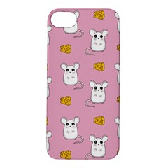 Cute Mouse Pattern Apple Iphone 5s/ Se Hardshell Case by Valentinaart