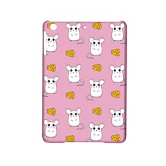 Cute Mouse Pattern Ipad Mini 2 Hardshell Cases by Valentinaart