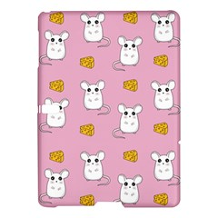 Cute Mouse Pattern Samsung Galaxy Tab S (10 5 ) Hardshell Case  by Valentinaart