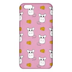 Cute Mouse Pattern Iphone 6 Plus/6s Plus Tpu Case by Valentinaart
