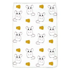 Cute Mouse Pattern Flap Covers (l)  by Valentinaart
