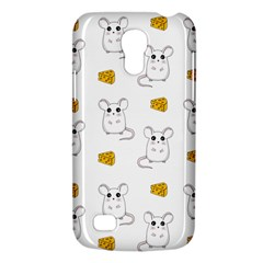 Cute Mouse Pattern Galaxy S4 Mini by Valentinaart