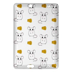 Cute Mouse Pattern Amazon Kindle Fire Hd (2013) Hardshell Case by Valentinaart