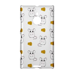 Cute Mouse Pattern Nokia Lumia 1520 by Valentinaart