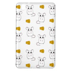 Cute Mouse Pattern Samsung Galaxy Tab Pro 8 4 Hardshell Case by Valentinaart