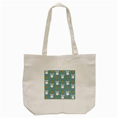 Cute Mouse Pattern Tote Bag (cream) by Valentinaart