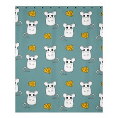 Cute Mouse Pattern Shower Curtain 60  X 72  (medium)  by Valentinaart