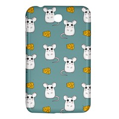 Cute Mouse Pattern Samsung Galaxy Tab 3 (7 ) P3200 Hardshell Case  by Valentinaart
