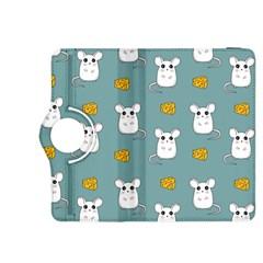 Cute Mouse Pattern Kindle Fire Hdx 8 9  Flip 360 Case by Valentinaart