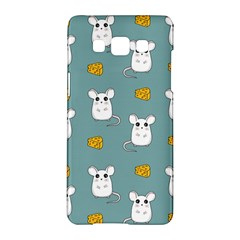 Cute Mouse Pattern Samsung Galaxy A5 Hardshell Case  by Valentinaart
