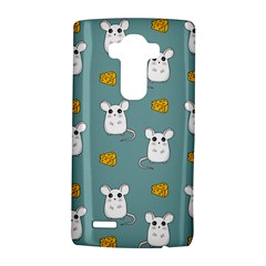 Cute Mouse Pattern Lg G4 Hardshell Case by Valentinaart