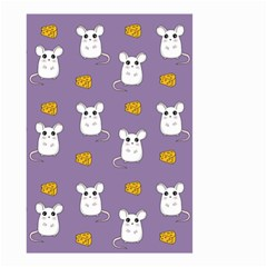 Cute Mouse Pattern Small Garden Flag (two Sides) by Valentinaart