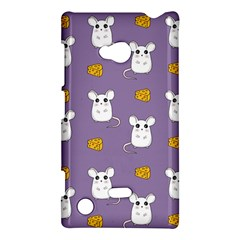 Cute Mouse Pattern Nokia Lumia 720 by Valentinaart