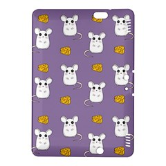 Cute Mouse Pattern Kindle Fire Hdx 8 9  Hardshell Case by Valentinaart