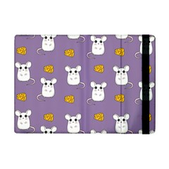 Cute Mouse Pattern Ipad Mini 2 Flip Cases by Valentinaart