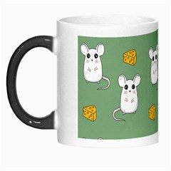 Cute Mouse Pattern Morph Mugs by Valentinaart
