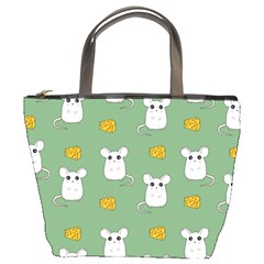 Cute Mouse Pattern Bucket Bags by Valentinaart