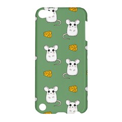 Cute Mouse Pattern Apple Ipod Touch 5 Hardshell Case by Valentinaart