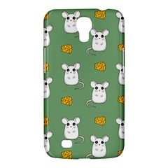 Cute Mouse Pattern Samsung Galaxy Mega 6 3  I9200 Hardshell Case by Valentinaart