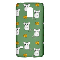 Cute Mouse Pattern Galaxy S5 Mini by Valentinaart