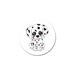 Cute Dalmatian Puppy  Golf Ball Marker (10 Pack) by Valentinaart
