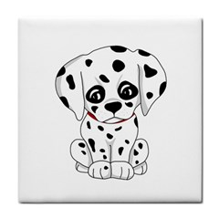 Cute Dalmatian Puppy  Face Towel by Valentinaart