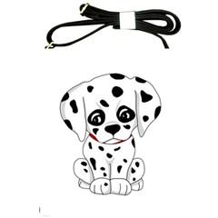 Cute Dalmatian Puppy  Shoulder Sling Bags by Valentinaart