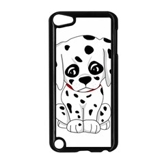 Cute Dalmatian Puppy  Apple Ipod Touch 5 Case (black) by Valentinaart