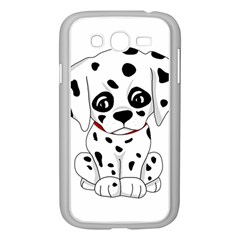 Cute Dalmatian Puppy  Samsung Galaxy Grand Duos I9082 Case (white) by Valentinaart