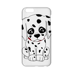 Cute Dalmatian Puppy  Apple Iphone 6/6s Hardshell Case by Valentinaart