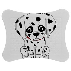 Cute Dalmatian Puppy  Jigsaw Puzzle Photo Stand (bow) by Valentinaart
