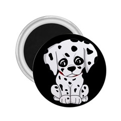 Cute Dalmatian Puppy  2 25  Magnets by Valentinaart