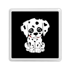Cute Dalmatian Puppy  Memory Card Reader (square)  by Valentinaart
