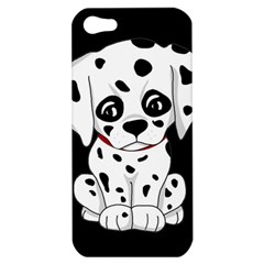 Cute Dalmatian Puppy  Apple Iphone 5 Hardshell Case by Valentinaart