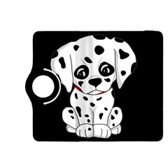Cute Dalmatian Puppy  Kindle Fire Hdx 8 9  Flip 360 Case by Valentinaart