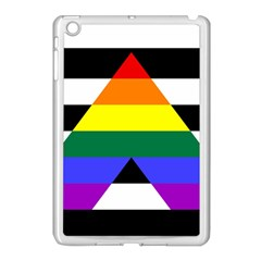 Straight Ally Flag Apple Ipad Mini Case (white) by Valentinaart