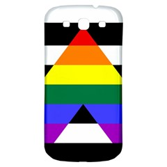 Straight Ally Flag Samsung Galaxy S3 S Iii Classic Hardshell Back Case by Valentinaart
