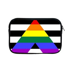 Straight Ally Flag Apple Ipad Mini Zipper Cases by Valentinaart