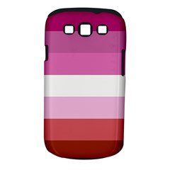 Lesbian Pride Flag Samsung Galaxy S Iii Classic Hardshell Case (pc+silicone) by Valentinaart