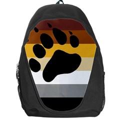Bear Pride Flag Backpack Bag by Valentinaart