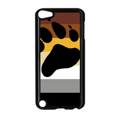 Bear Pride Flag Apple Ipod Touch 5 Case (black) by Valentinaart