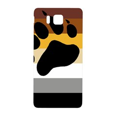 Bear Pride Flag Samsung Galaxy Alpha Hardshell Back Case by Valentinaart