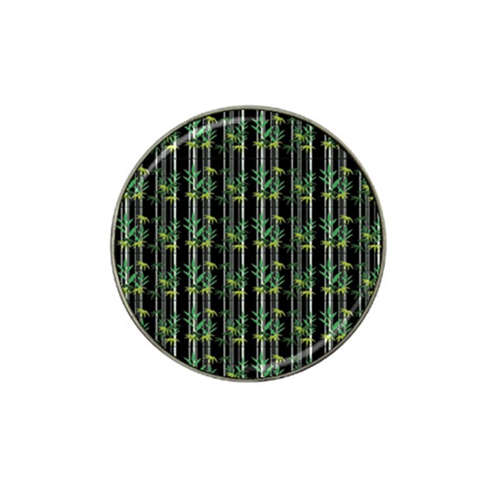 Bamboo pattern Hat Clip Ball Marker (10 pack)