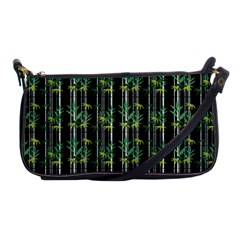 Bamboo Pattern Shoulder Clutch Bags by ValentinaDesign