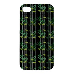 Bamboo Pattern Apple Iphone 4/4s Hardshell Case by ValentinaDesign