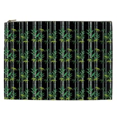 Bamboo Pattern Cosmetic Bag (xxl)  by ValentinaDesign