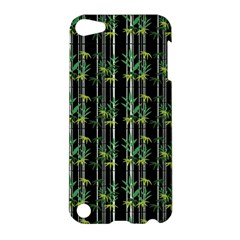 Bamboo Pattern Apple Ipod Touch 5 Hardshell Case by ValentinaDesign